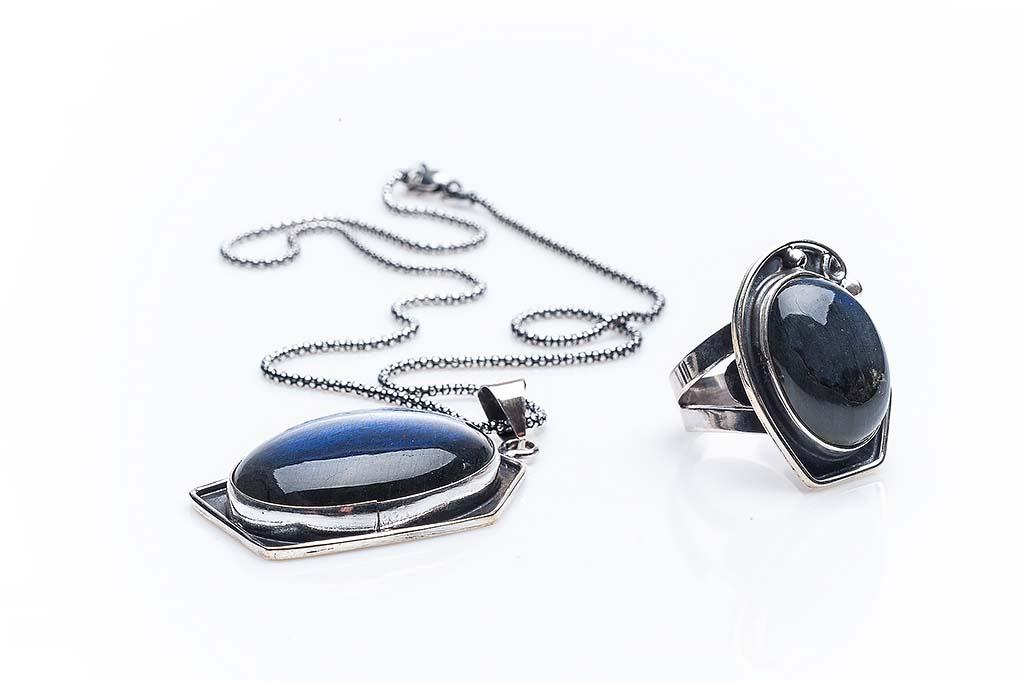 Сребърен комплект КН-0205000208