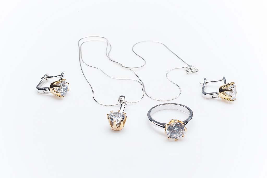 Сребърен комплект КН-0205000290