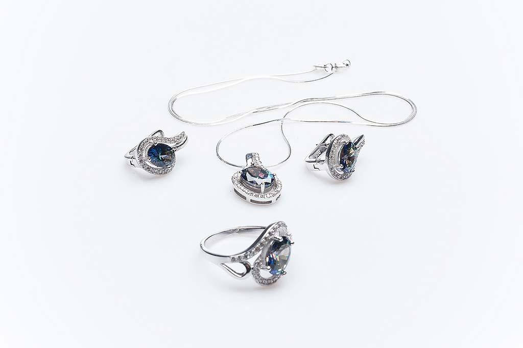 Сребърен комплект КН-0205000291