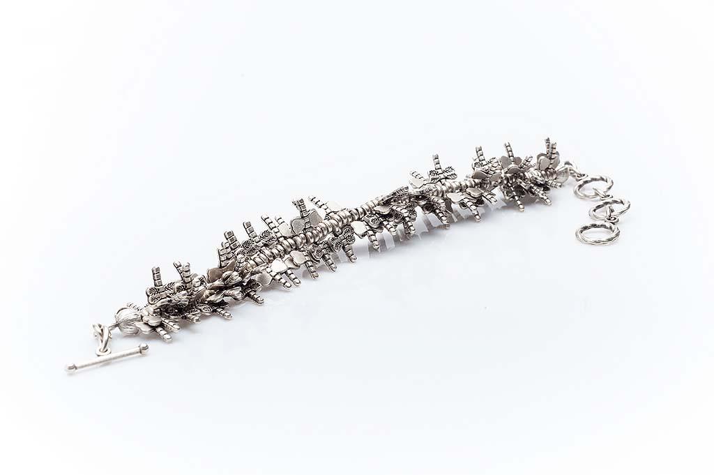 Посребрена гривна КН-0302003045