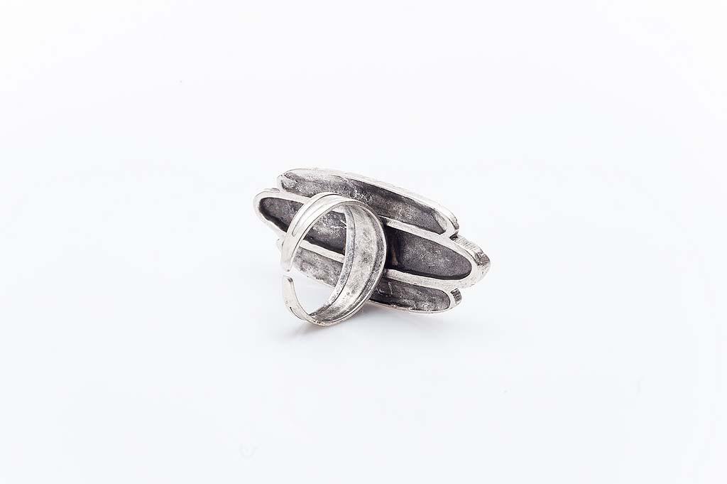 Посребрен пръстен КН-0303004001