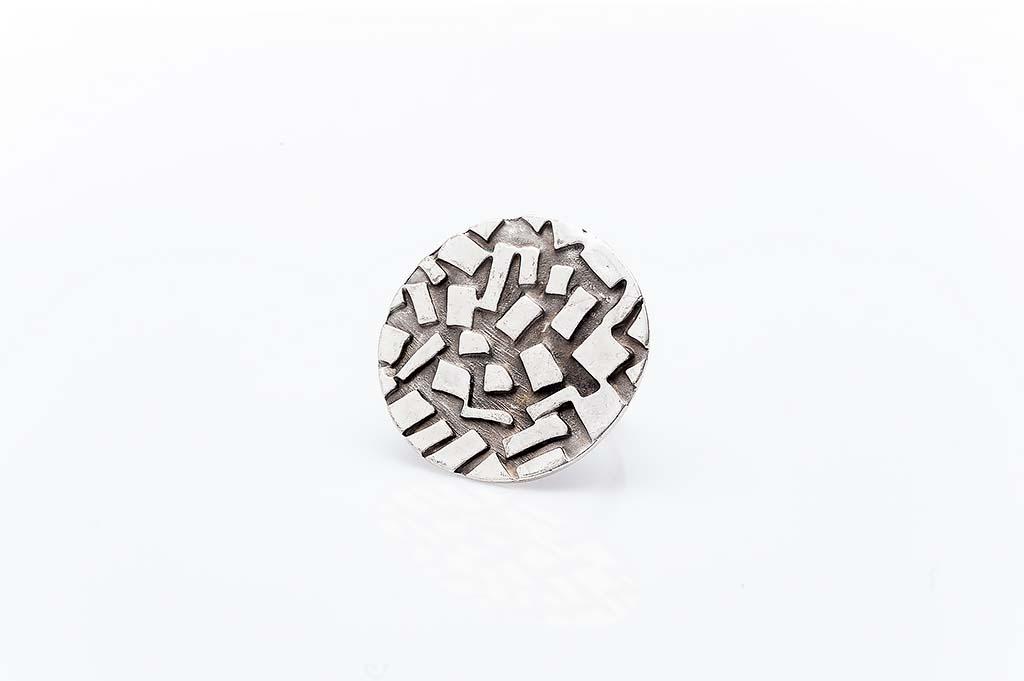 Посребрен пръстен КН-0303004003