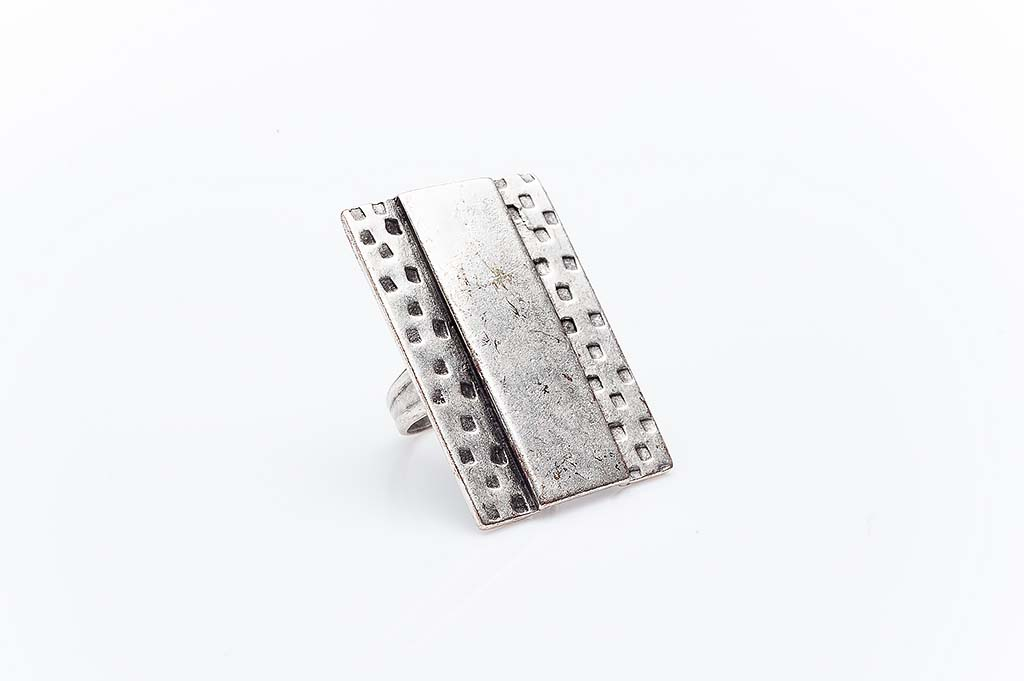 Посребрен пръстен КН-0303004004