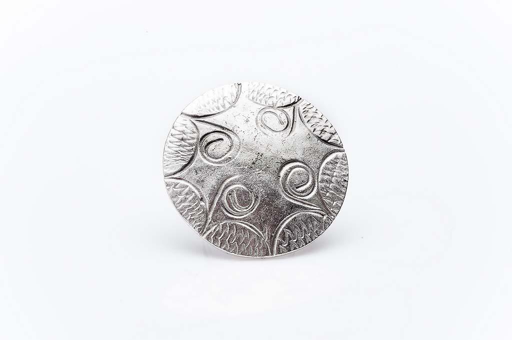 Посребрен пръстен КН-0303004005