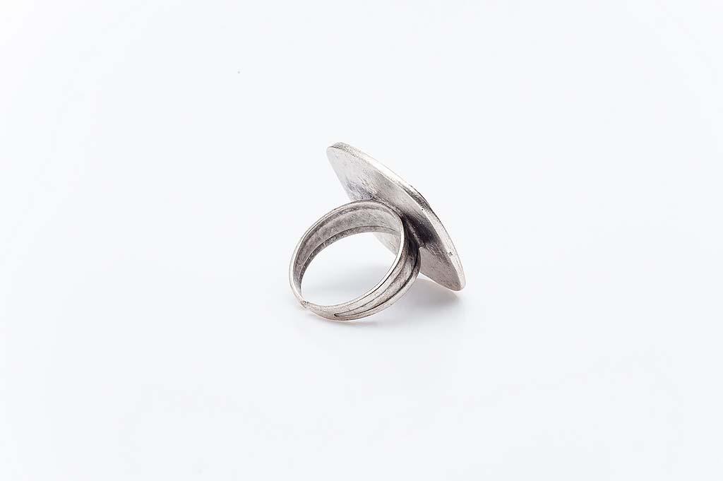 Посребрен пръстен КН-0303004006