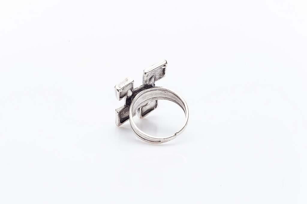 Посребрен пръстен КН-0303004007