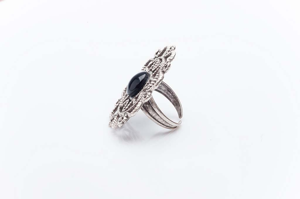 Посребрен пръстен КН-0303004008