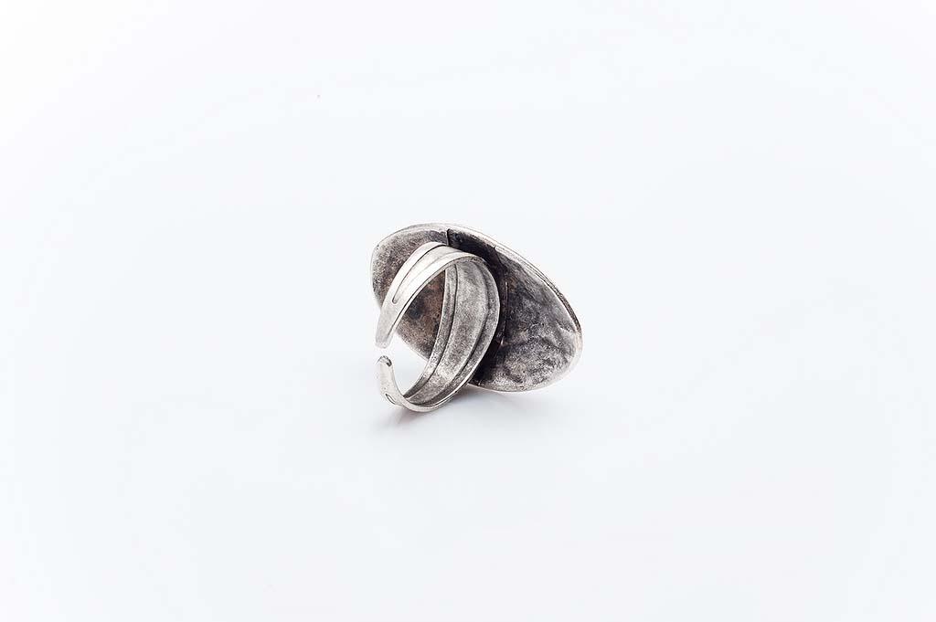Посребрен пръстен КН-0303004009