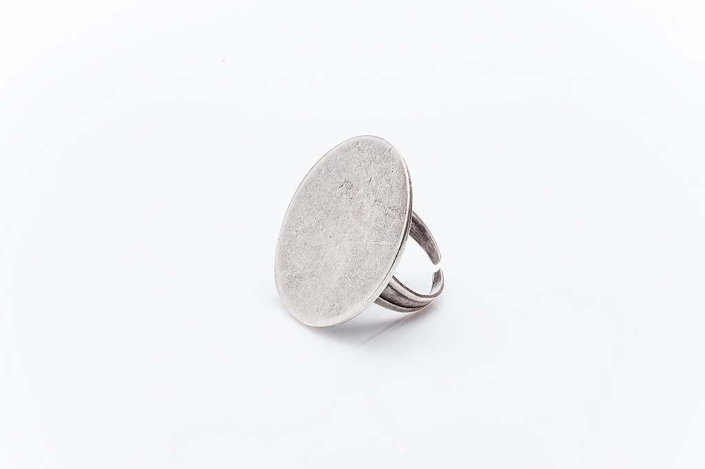 Посребрен пръстен КН-0303004010
