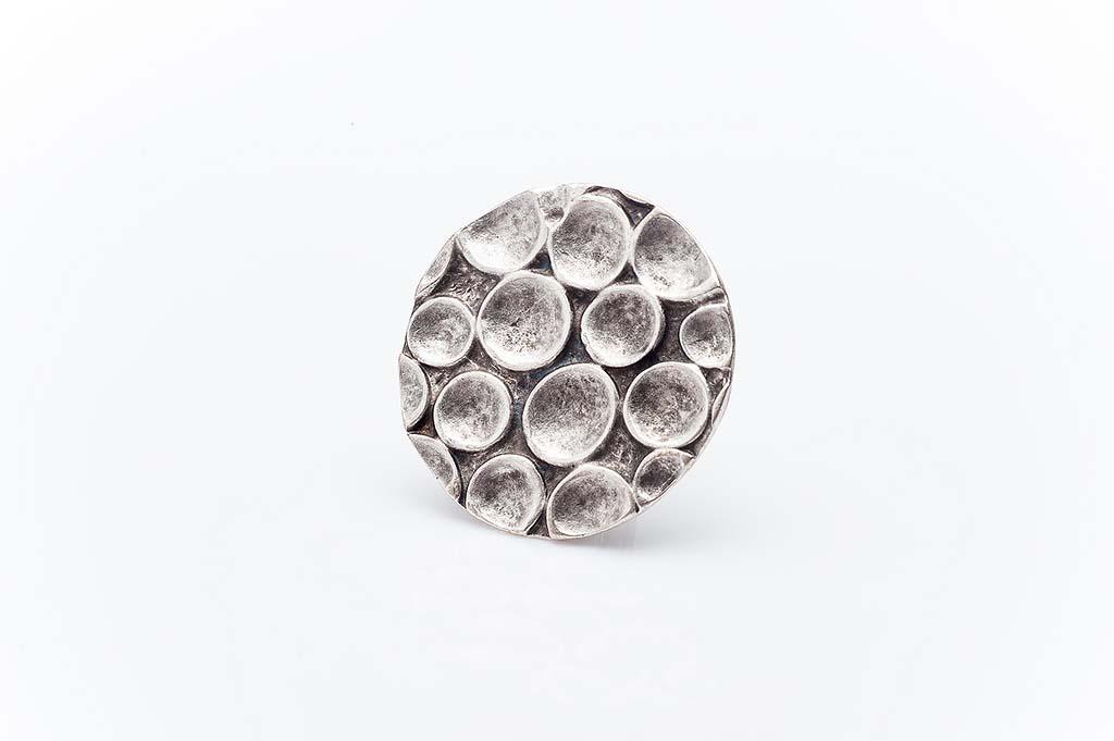 Посребрен пръстен КН-0303004011