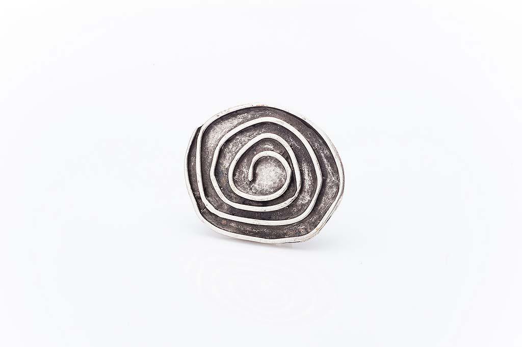Посребрен пръстен КН-0303004012