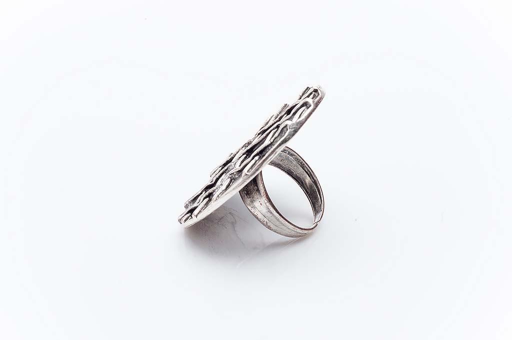 Посребрен пръстен КН-0303004013