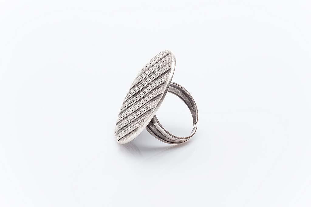 Посребрен пръстен КН-0303004014