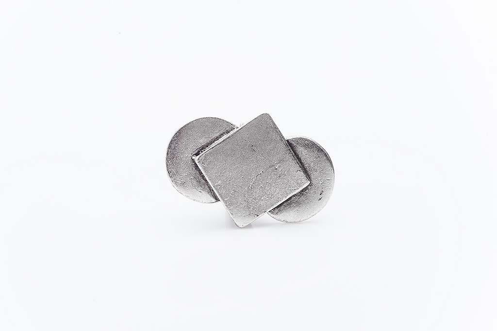 Посребрен пръстен КН-0303004016