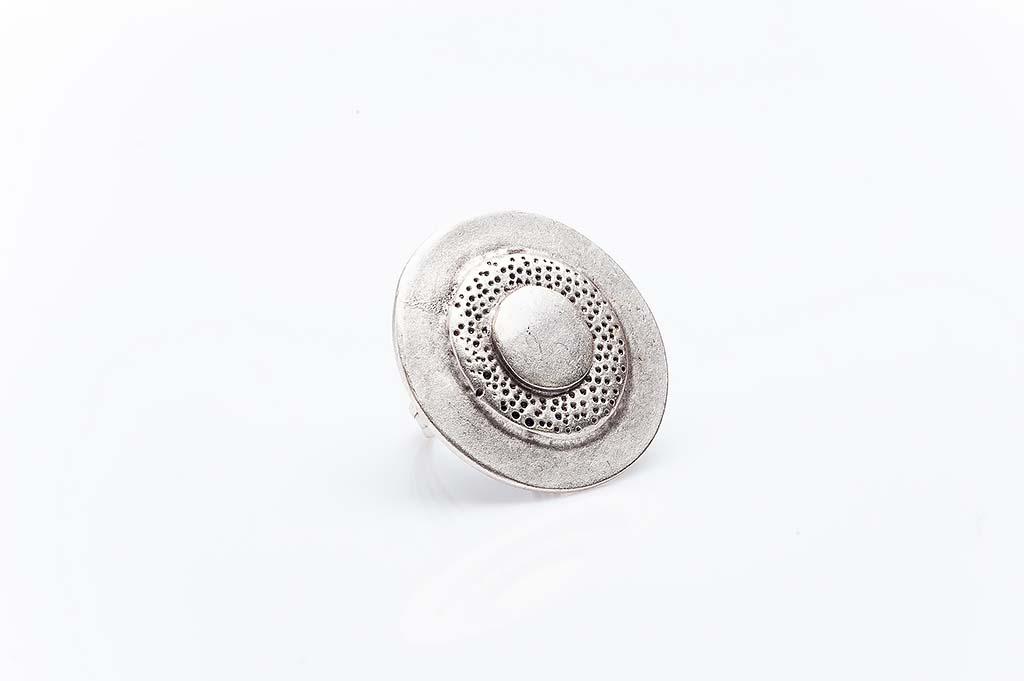 Посребрен пръстен КН-0303004017