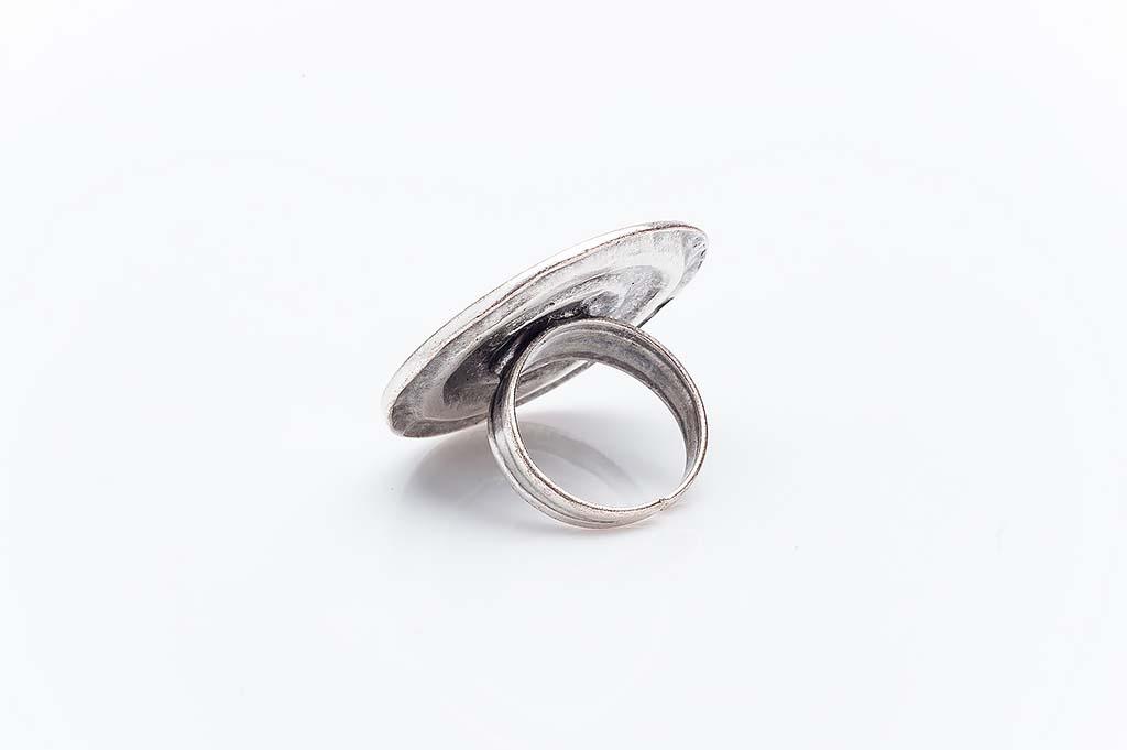 Посребрен пръстен КН-0303004018