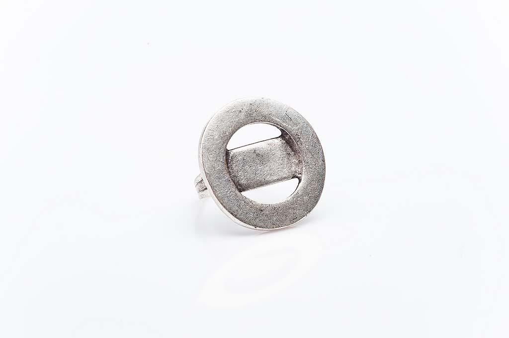Посребрен пръстен КН-0303004019