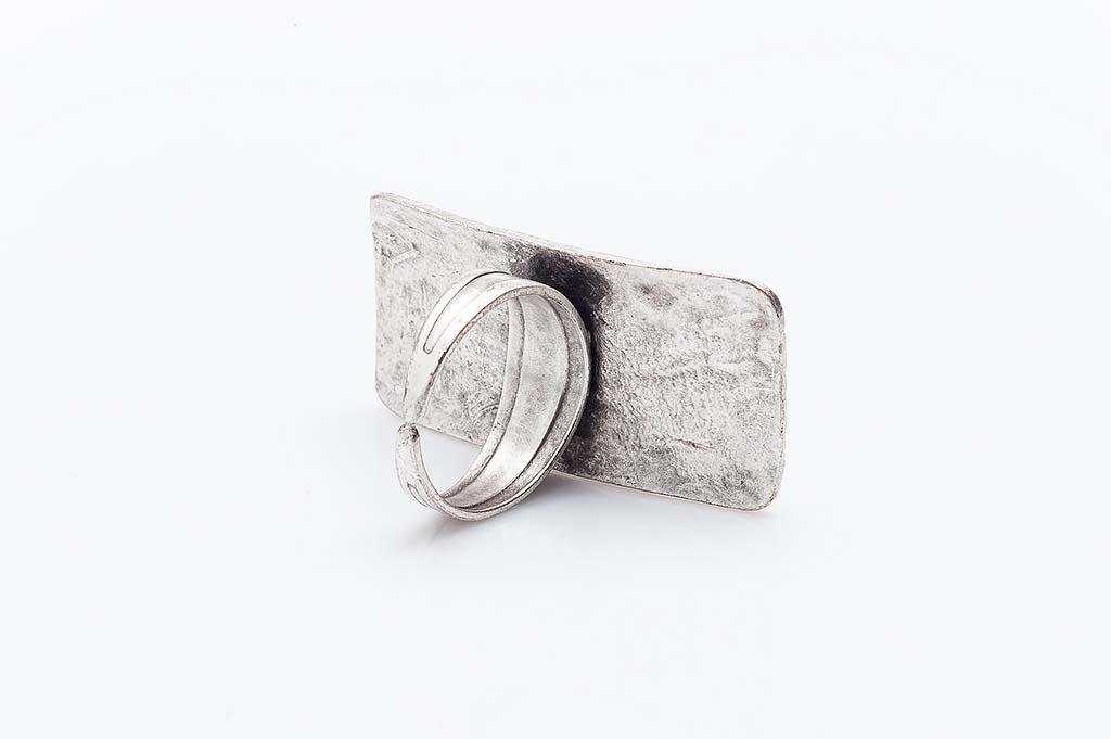 Посребрен пръстен КН-0303004020