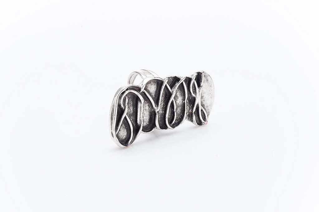 Посребрен пръстен КН-0303004022