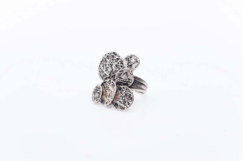 Посребрен пръстен КН-0303004023