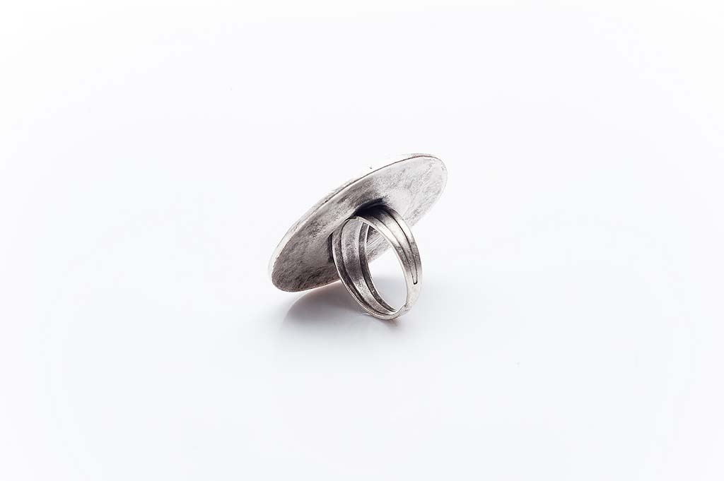Посребрен пръстен КН-0303004025