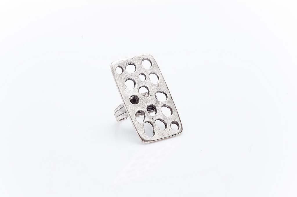 Посребрен пръстен КН-0303004029