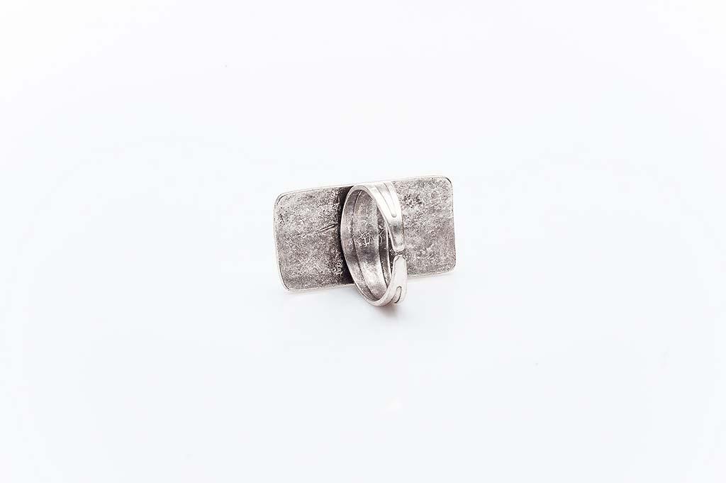 Посребрен пръстен КН-0303004030
