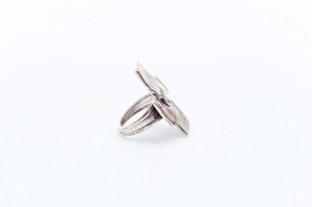 Посребрен пръстен КН-0303004031