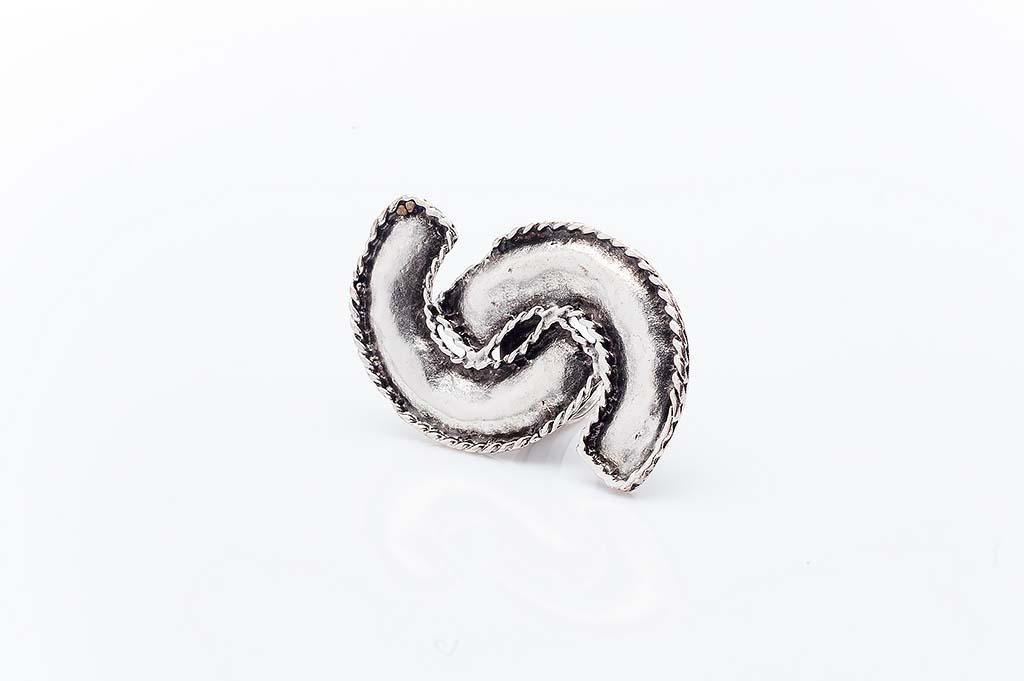Посребрен пръстен КН-0303004032