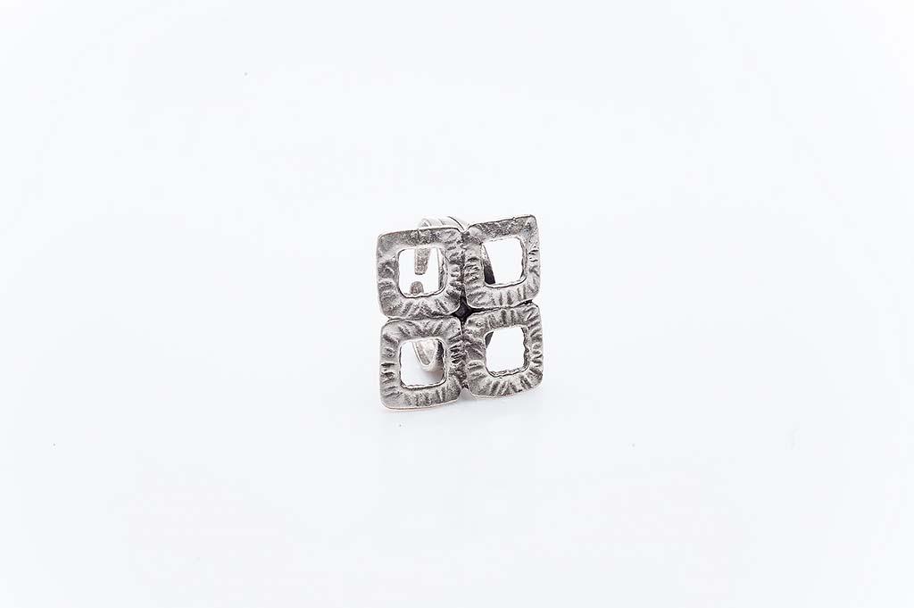 Посребрен пръстен КН-0303004033