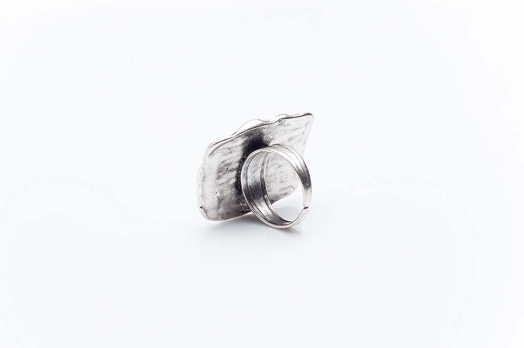 Посребрен пръстен КН-0303004034
