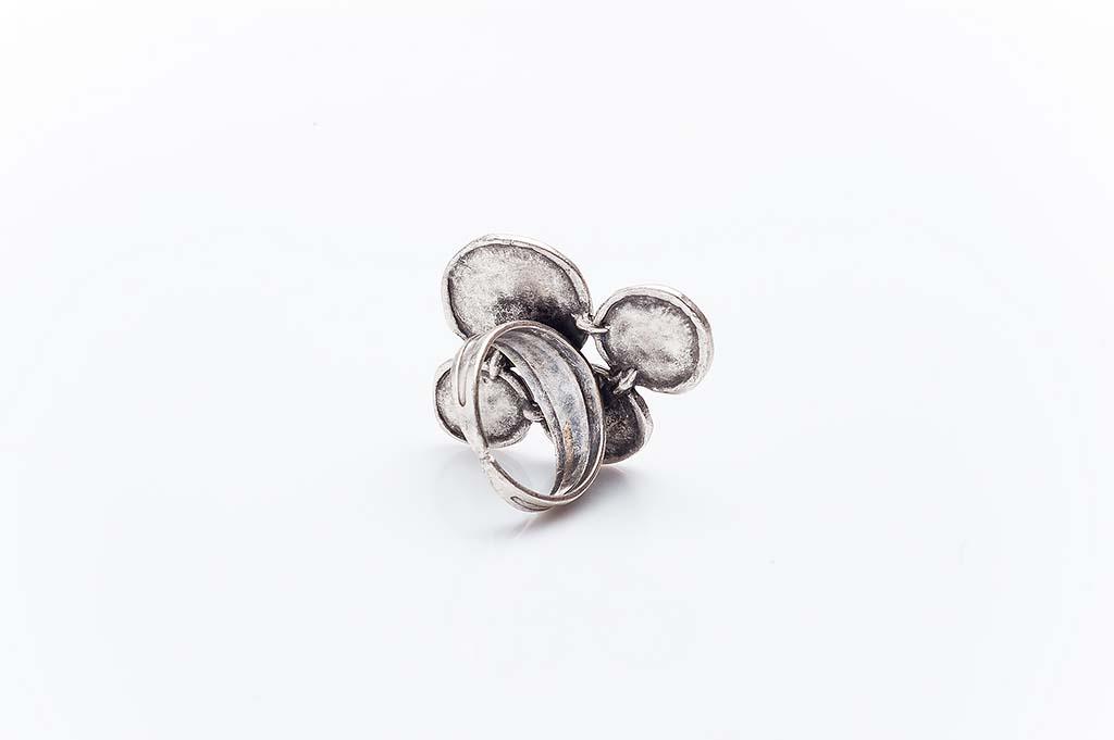 Посребрен пръстен КН-0303004035