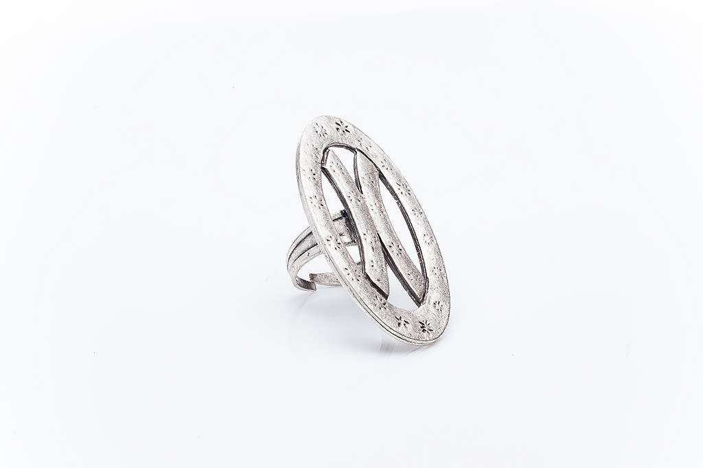 Посребрен пръстен КН-0303004036