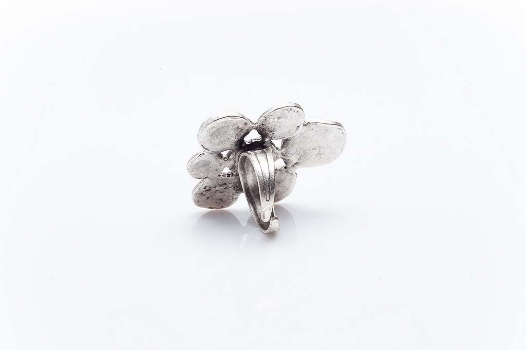 Посребрен пръстен КН-0303004037