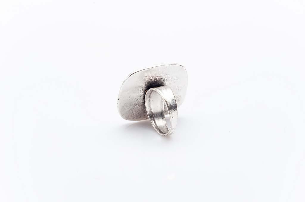 Посребрен пръстен КН-0303004039