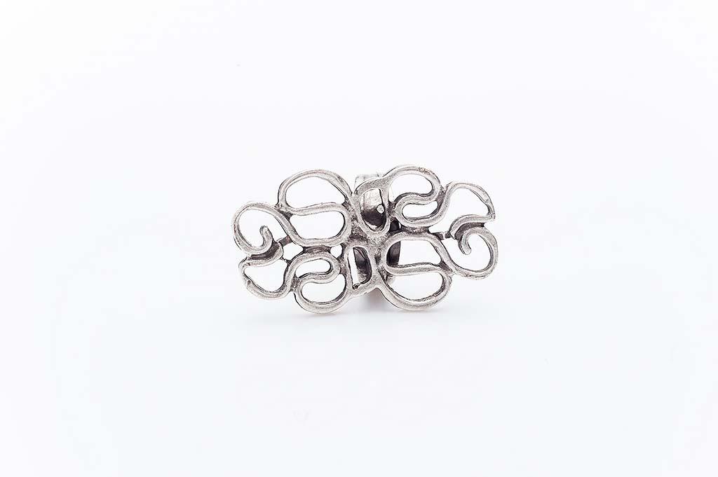Посребрен пръстен КН-0303004040