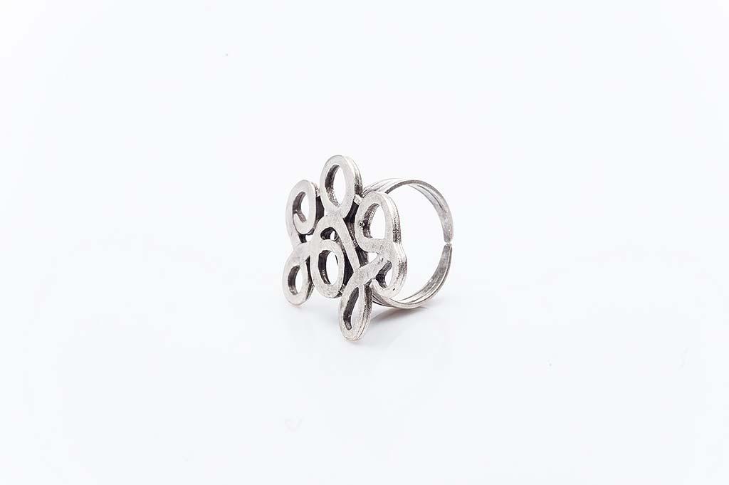 Посребрен пръстен КН-0303004041