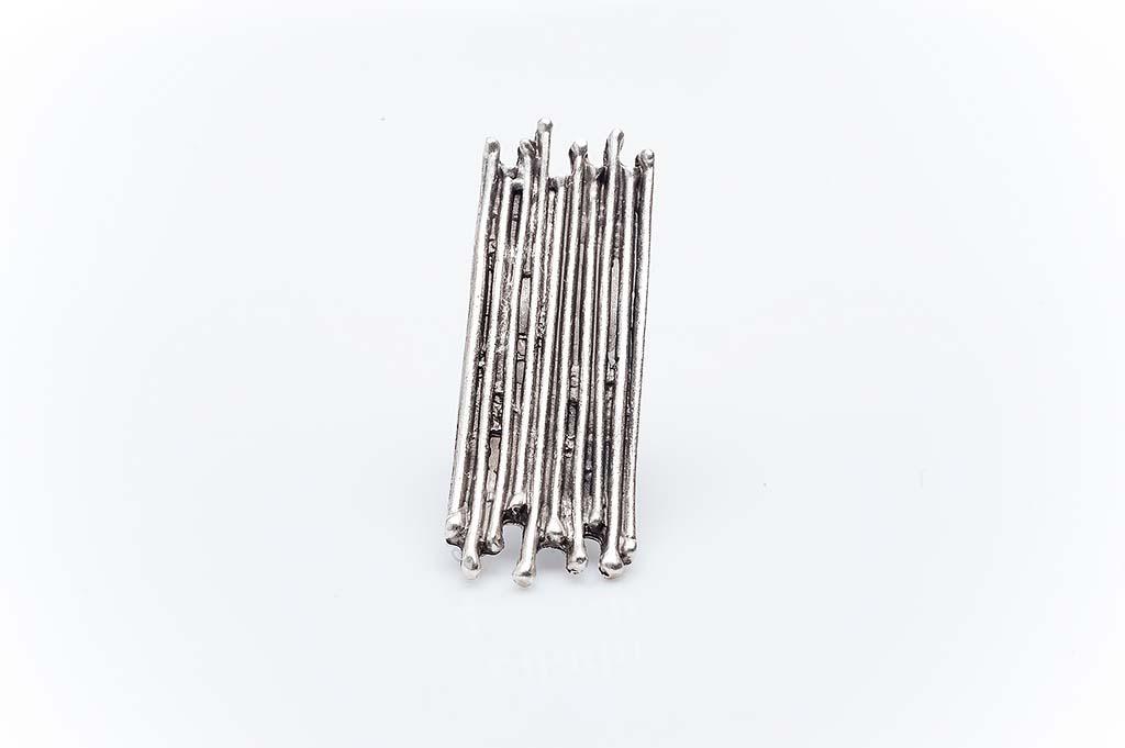 Посребрен пръстен КН-0303004042