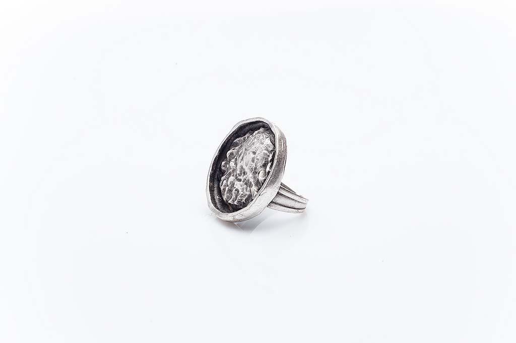 Посребрен пръстен КН-0303004044
