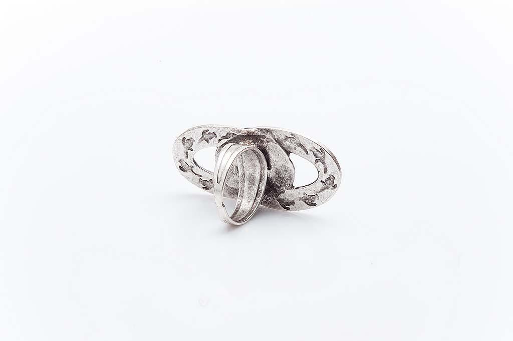 Посребрен пръстен КН-0303004046