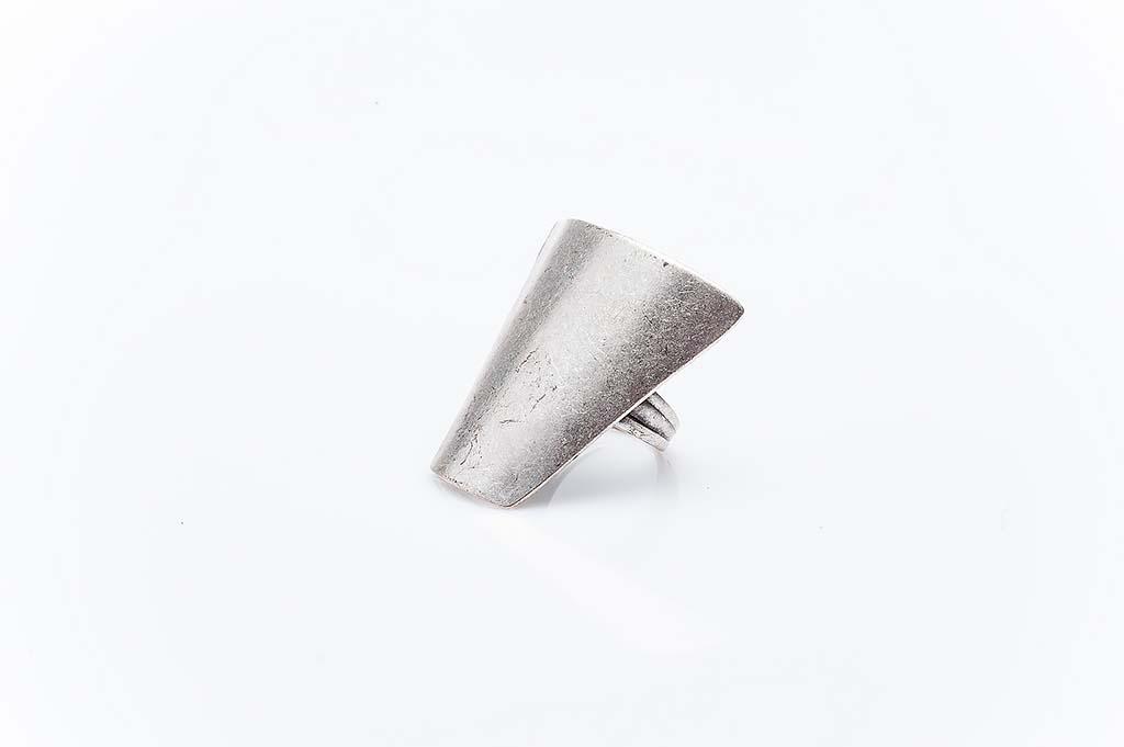 Посребрен пръстен КН-0303004047