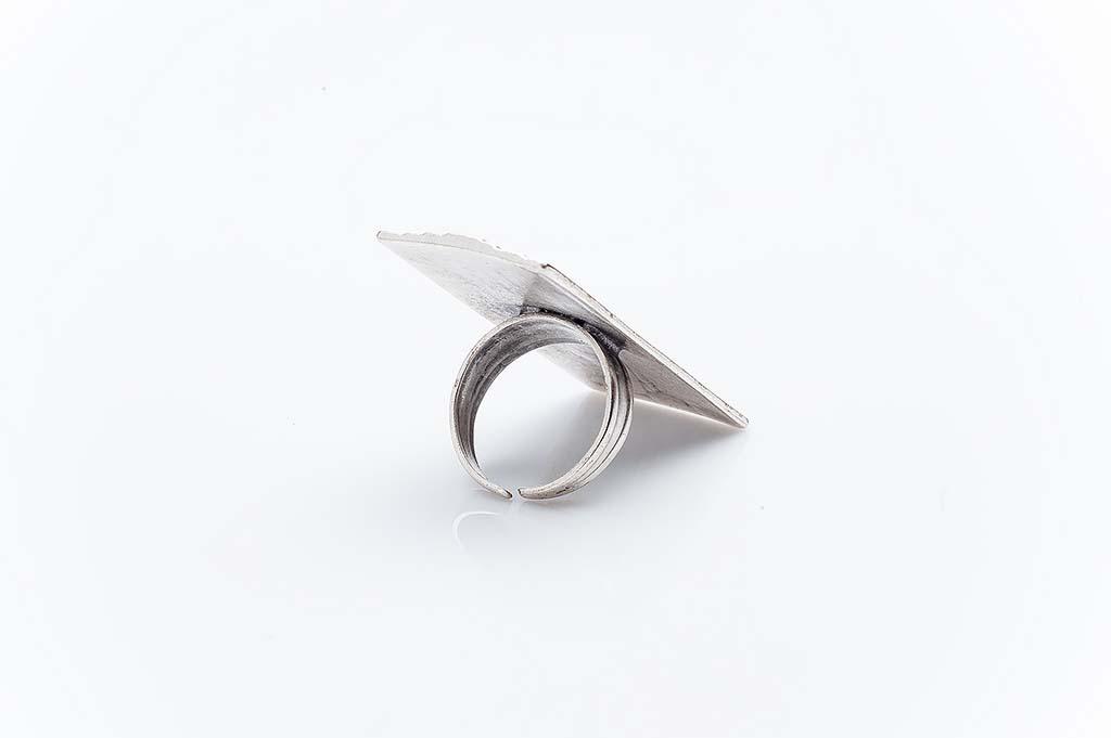 Посребрен пръстен КН-0303004048