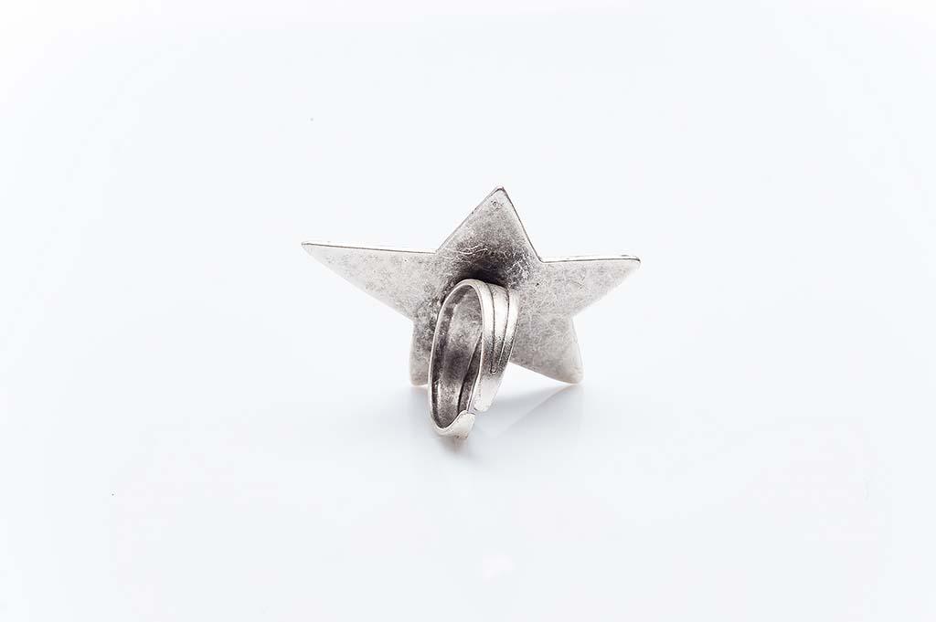 Посребрен пръстен КН-0303004049