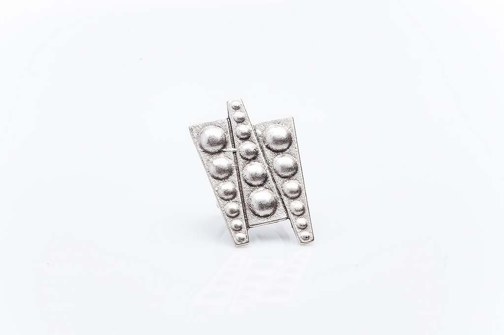Посребрен пръстен КН-0303004051