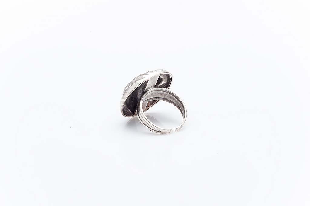 Посребрен пръстен КН-0303004053