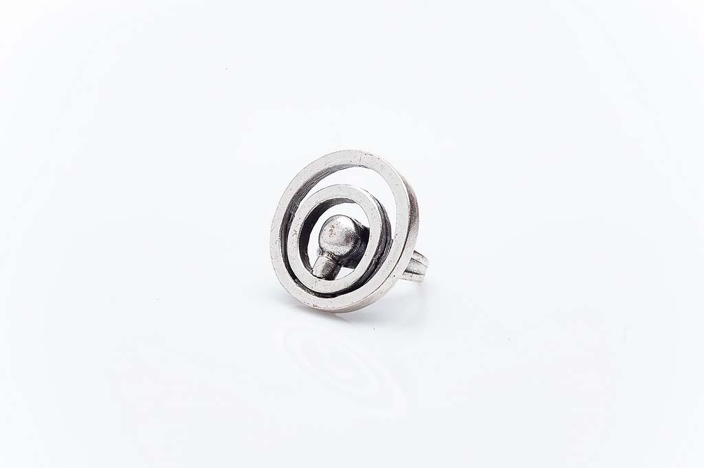 Посребрен пръстен КН-0303004054