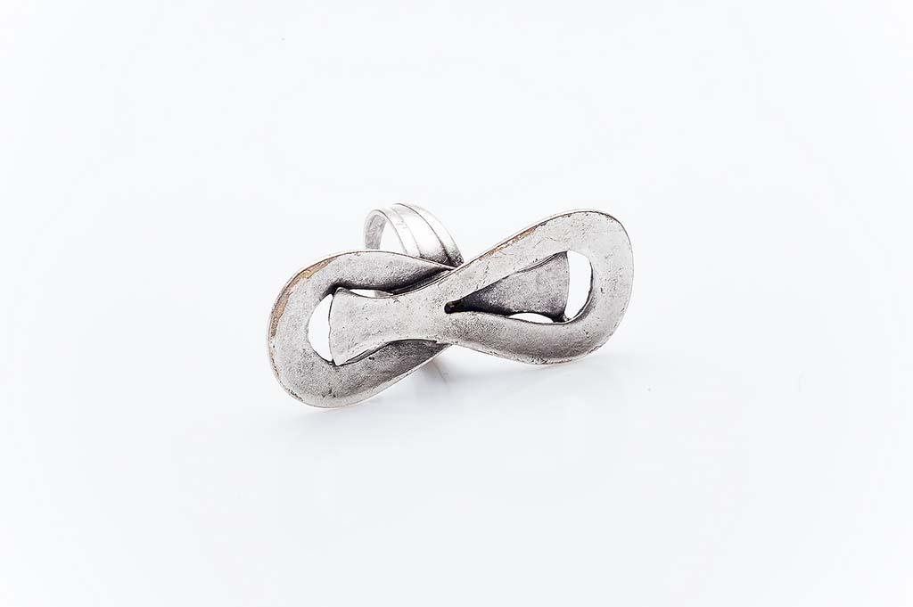 Посребрен пръстен КН-0303004055