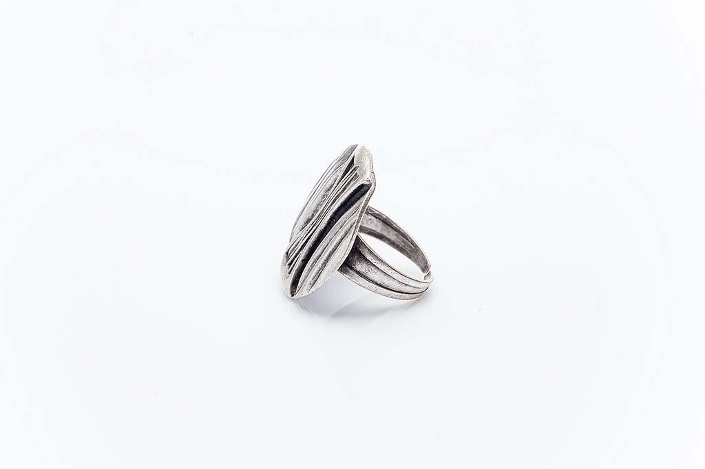 Посребрен пръстен КН-0303004057