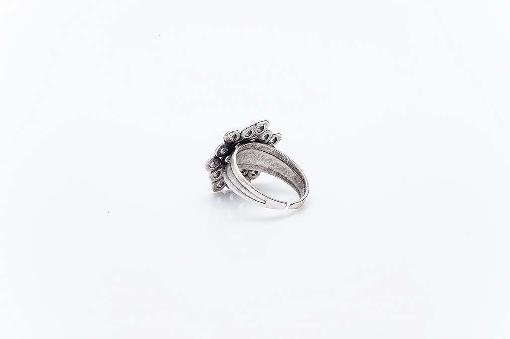 Посребрен пръстен КН-0303004058