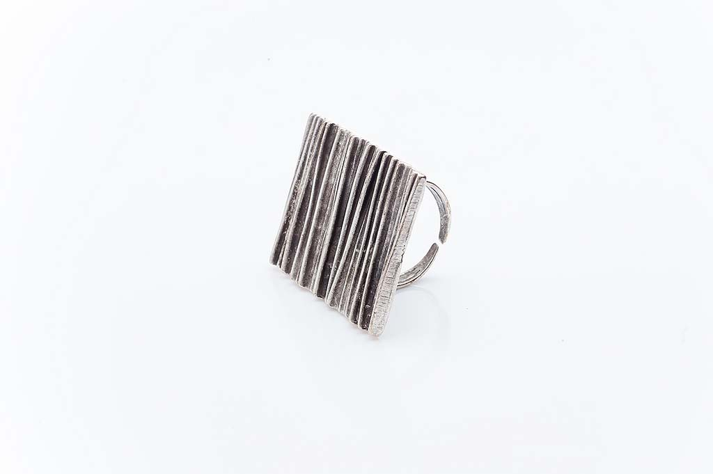 Посребрен пръстен КН-0303004059